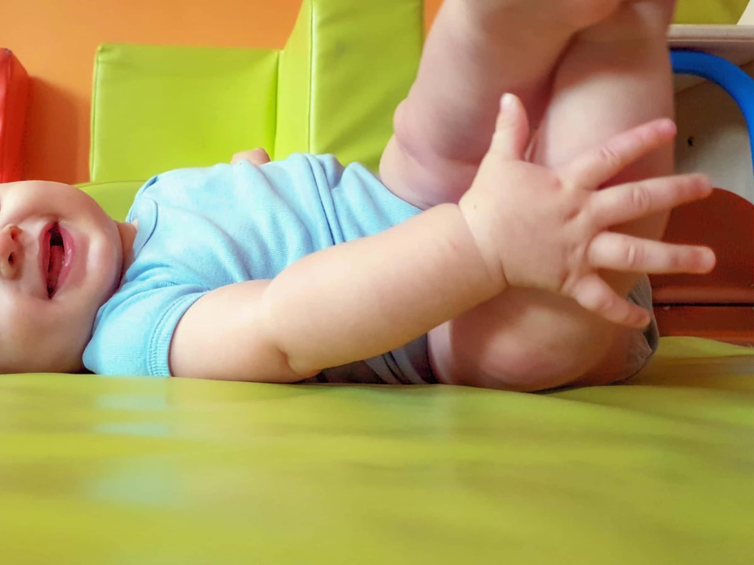 Bébé à la micro-crèche